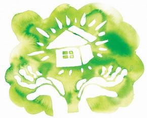Green House 2(家のイラスト)